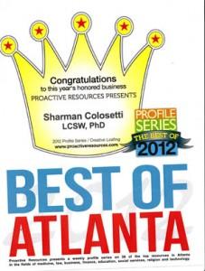 Best of Atlanta Sharman Collosetti Crown
